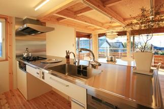 ステンレスキッチン天板
